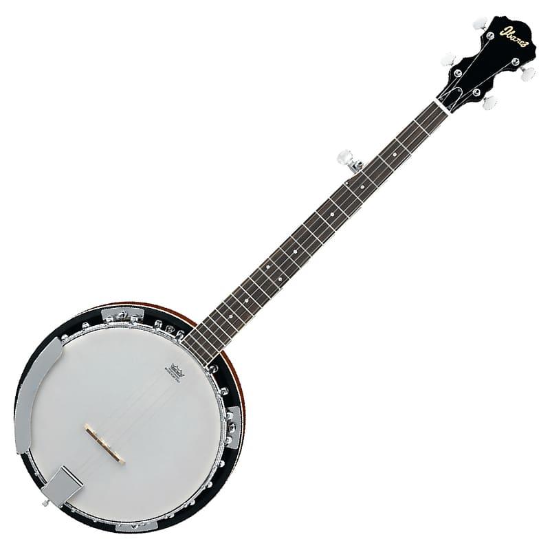 Ibanez B50 5 String Mahogany Rim Resonator Banjo