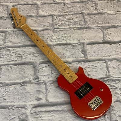 Indiana Small Body Electric Guitar Red for sale