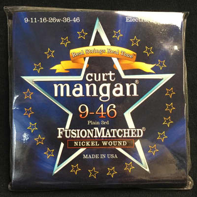 Curt Mangan Nickel Wound 9-46