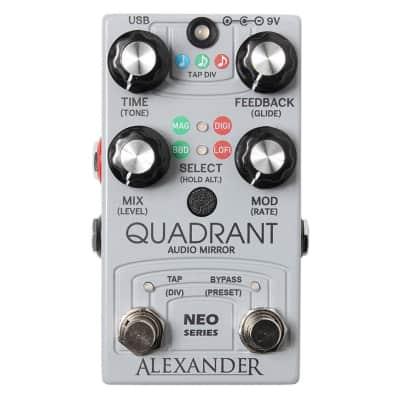 Alexander Pedals Quadrant Audio Mirror Delay