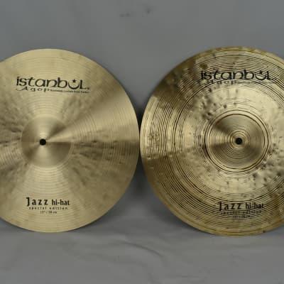 "Istanbul Agop 15"" Special Edition Jazz Hi-Hat (Pair) 945gr top, 1141gr bottom"