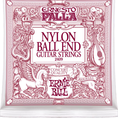 Ernie Ball 2409 Ernesto Palla Nylon Classical Ball End Acoustic Strings 28 - 42 for sale