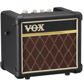 VOX MINI3-G2-CL 3w Busking Amp, 1x5 spkr, 11 models, Aux/Mic in,Bassilator, Classic Vox look for sale