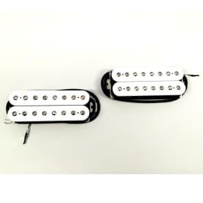 Bare Knuckle Juggernaut Misha Mansoor Signature 8-String Humbucker Pickup Set White Open Coils