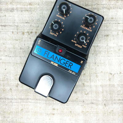 Pearl FG-01 Flanger Vintage Pedal w/ Original Box for Collectors - FREE Shipping - Mint for sale
