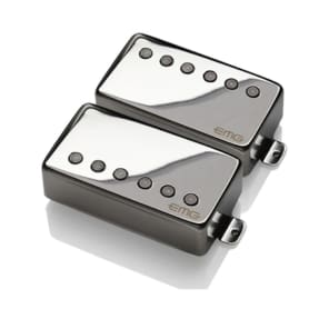 "EMG Pickups JH James Hetfield ""Het"" Signature Active Pickup Set Chrome"