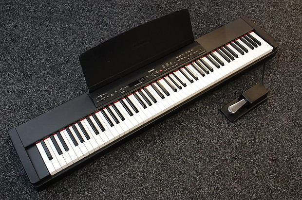 yamaha p90 portable digital piano inc manual gig bag