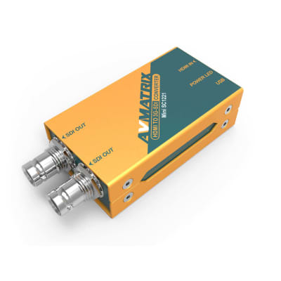 AVMatrix Mini SC1221 HDMI to 3G-SDI Mini Converter