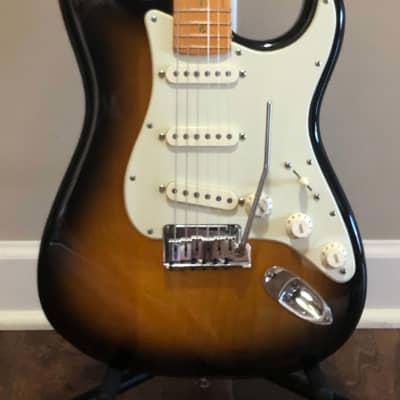 Fender American Deluxe Stratocaster 2 Tone Sunburst - 2004 for sale