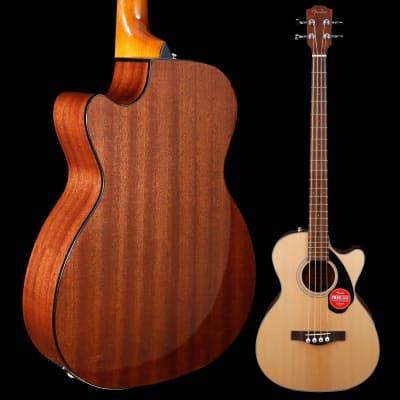 Fender CB-60SCE Bass, Laurel Fingerboard, Natural 035 5lbs 0.9oz for sale