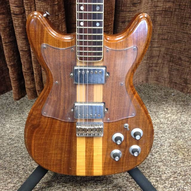 Gretsch Committee 7628 Vintage Neck Through Electric Guitar 1977-80 with Case image