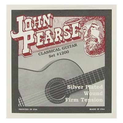 John Pearse 1200 Classical Firm Tension Acoustic Guitar Strings Set