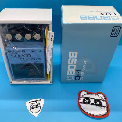 Boss CH-1 Super Chorus w/Original Box | Fast Shipping!