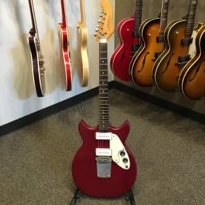 1970's Micro-Frets Signature Custom Red Electric Guitar w/ case Nice! for sale