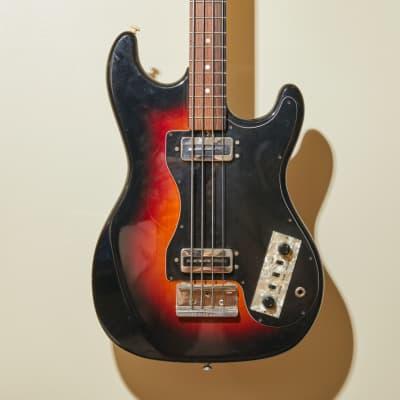 Vintage Hofner 182 Bass Guitar - Late 60s/Early 70s - Tobacco Sunburst for sale