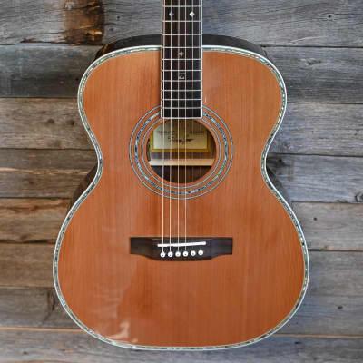 (12974) Zager ZAD-80 OM/N Acoustic Guitar for sale
