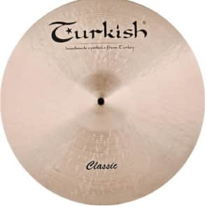 "Turkish Cymbals 15"" Classic Series Crash Paper Thin C-CPT15"