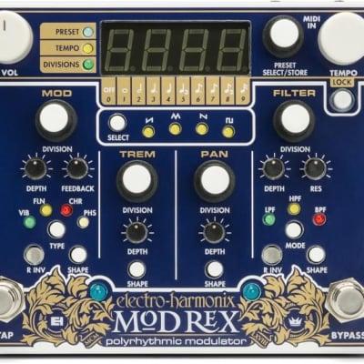 ElectroHarmonix Mod Rex Poly-Rhythmic Modulator Midi Effect Pedal