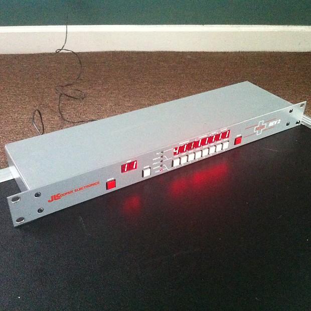 Jl Cooper Msb Rev 2 Programmable Midi Patch Bay   Free Msb