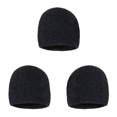 Microphone Inner Windscreen - 3 Pack - Fits Shure SM58, Beta 58A, SM48, PG58 & Others For Vocal Mic