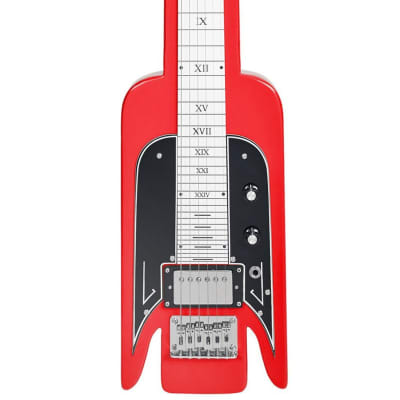 Airline Guitars Lap Steel - Red - Vintage National -inspired Tribute Model - NEW! for sale