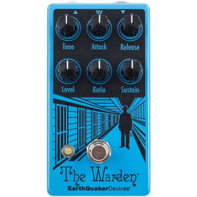 EarthQuaker The Warden V2 Optical Compressor Pedal for sale