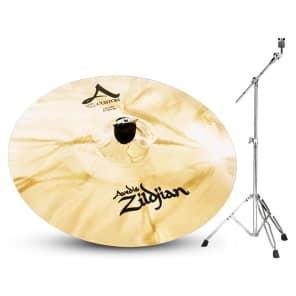 "Zildjian A Custom 17"" Crash Cymbal Bundle - 17"""