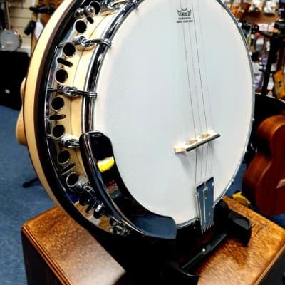 Ashbury AB-65 17 Fret Tenor Banjo Maple for sale