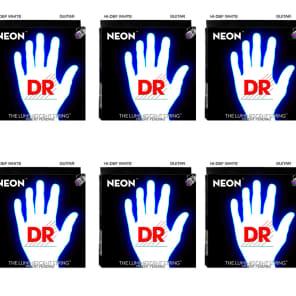 DR NWE9 HI-Def Coated Neon K3 Electric Guitar Strings - Light (9-42)