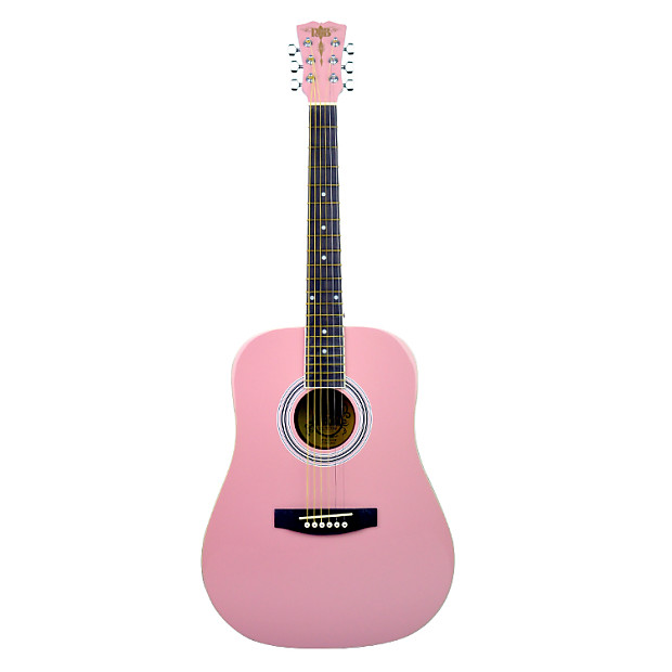 r b 36 acoustic guitar light pink gear guerilla reverb. Black Bedroom Furniture Sets. Home Design Ideas