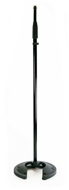 Store Demo | Whirlwind STNDMR Round Base Microphone Stand | Adjustable Height image
