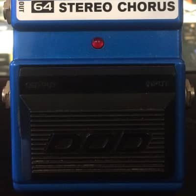 DOD FX64 Ice Box Stereo Chorus Electric Guitar Effects Pedal for sale