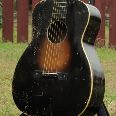 ~Nick Lucas~ 1936 Paramount Special OM Acoustic - Harmony Vogue B - Very Rare Vintage USA Guitar! for sale