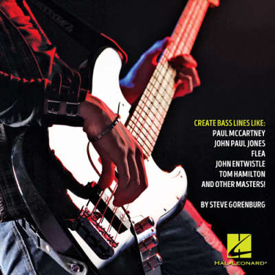 Hal Leonard How To Create Rock Bass Lines Book
