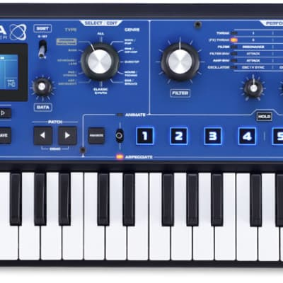 Novation MiniNova Keyboard Synthesizer