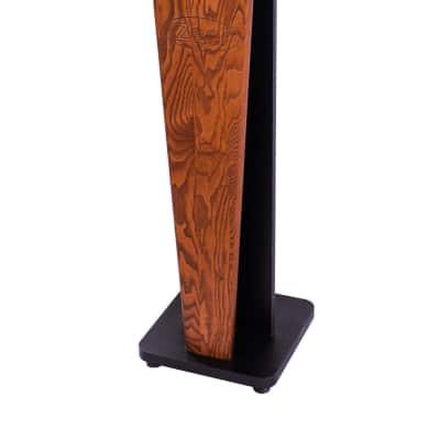 "New Zaor Croce 36"" PAIR of White Gloss Speaker Stands x2"