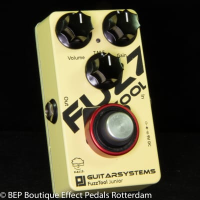 Guitarsystems Fuzz Tool Junior 2014 s/n 20140930#1 handcrafted by nerdy elfs in the Netherlands