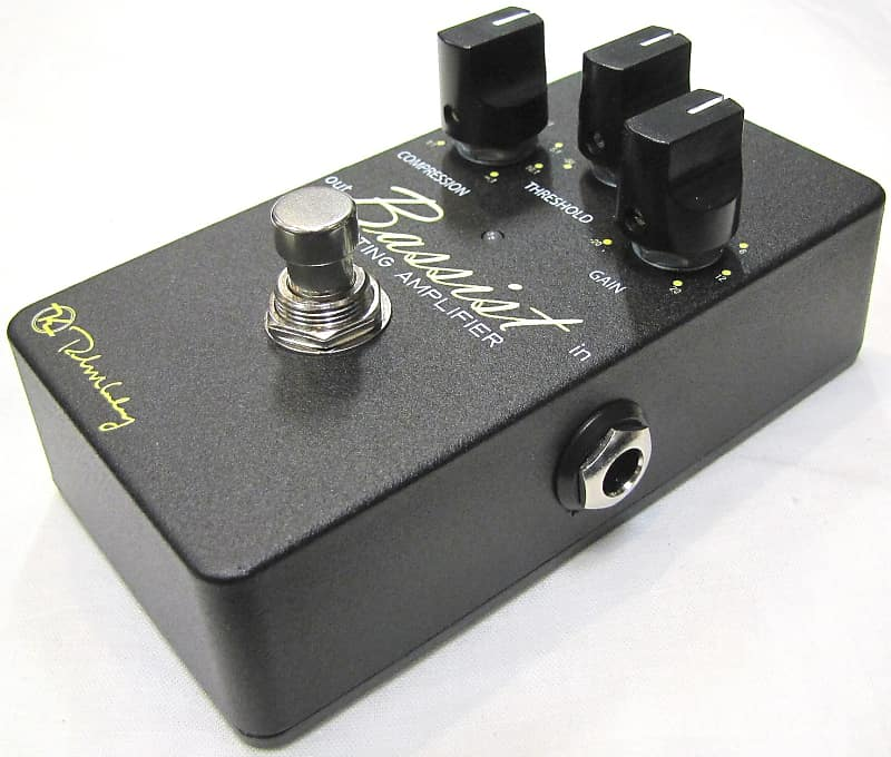 New Keeley Bassist Compressor and Limiting Amplifier Bass Guitar Effects Pedal!
