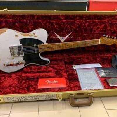 fender telecaster custom shop 51 nocaster relic white blonde de... for sale