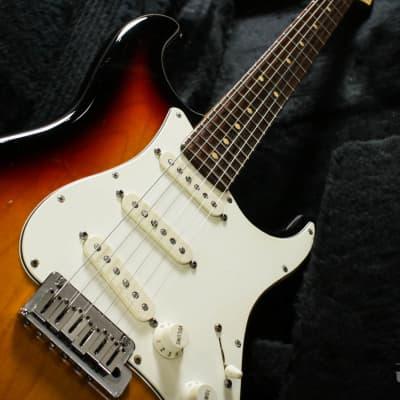 Fender Custom Shop Custom Classic Stratocaster 2001 Sunburst for sale