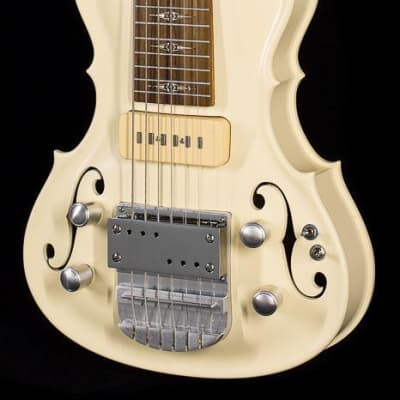 Scott Walker Horizon Hollow Lap Steel Ivory (828) for sale