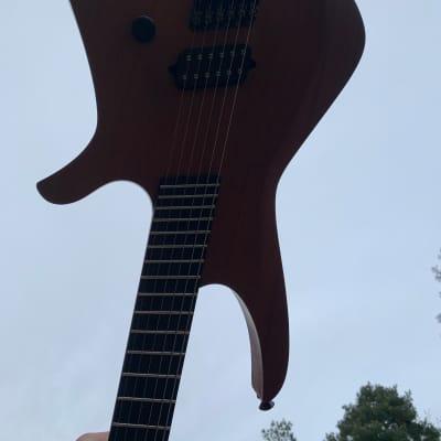 Black Water Guitars  Headless  2012 for sale