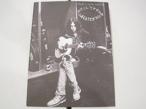 Neil Young Greatest Hits Strum /& Sing Guitar Chord Songbook
