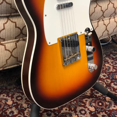 Fender Custom Shop LTD Vintage 59 Custom Telecaster Journeyman 2019 Sunburst