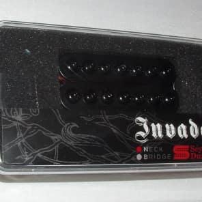 Seymour Duncan 7-String Invader Neck Pickup Passive Mount Black Cover