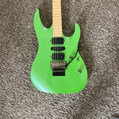 Mitchell HD400 Series Lime Green Metallic w/Hardshell Case for sale