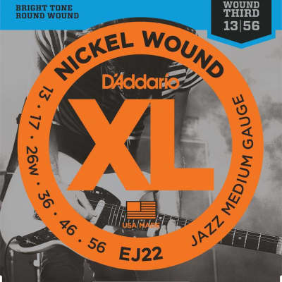 D'Addario XL Nickel Electric Strings - 13-56