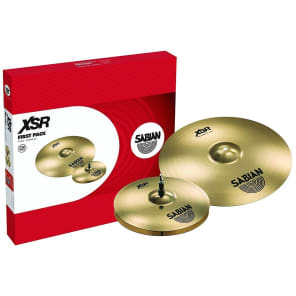 """Sabian XSR 14/16"""" First Pack Cymbal Pack"""