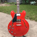 Lefty Gibson Memphis ES-335 Traditional Antique Faded Cherry 2018