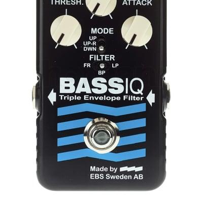 EBS Blue Label Bass IQ Analog Envelope Filter pedal
